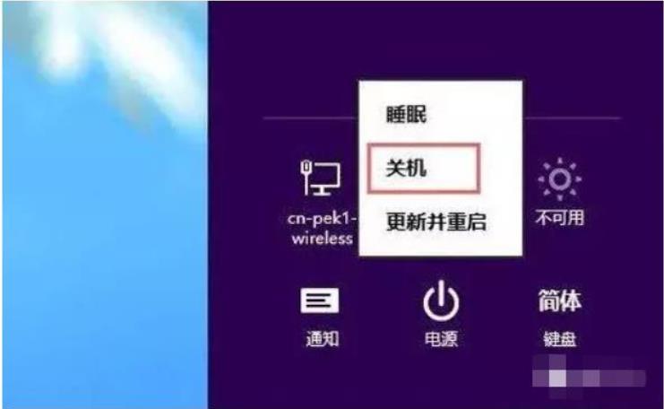 win8怎么关机快捷键是什么 上海IT外包 第3张